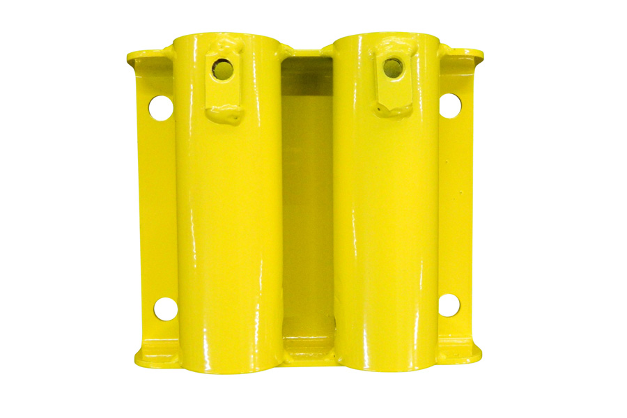 Double Face Mount For Permanent Guardrail Systems