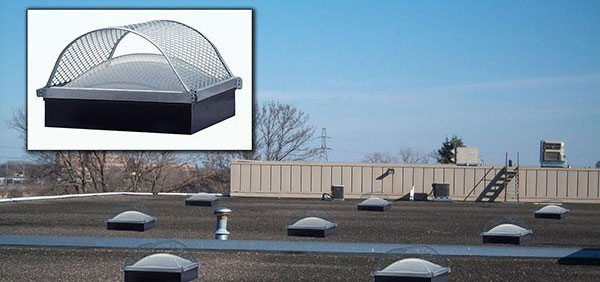 Skylight guarding systems