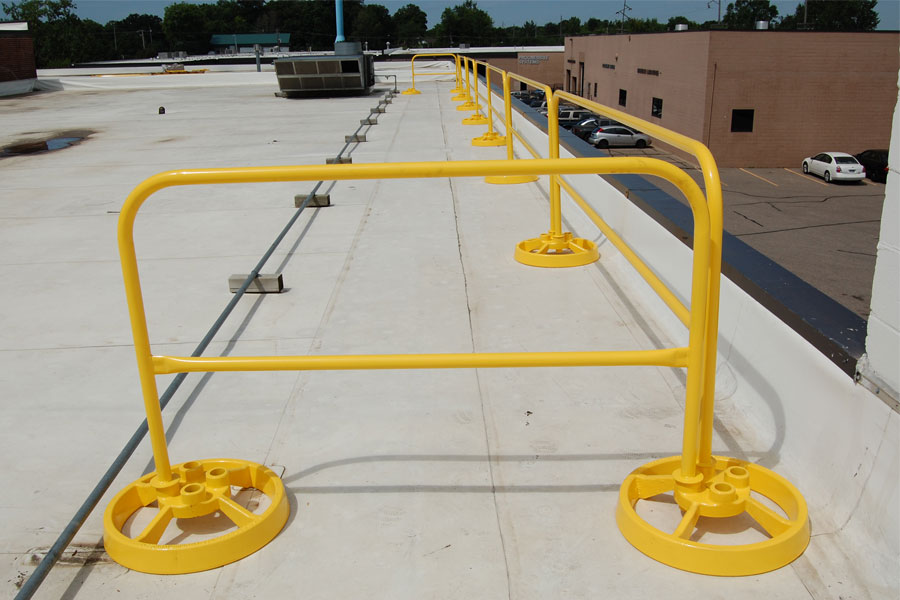 Portable Guardrail Systems
